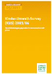 Kinder-Umwelt-Survey (KUS) 2003/06             Sensibilisierungen gegenüber Innenraumschimmelpilzen